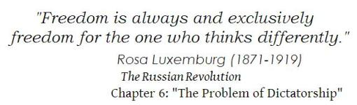 Rosa Luxemburg short quote 1